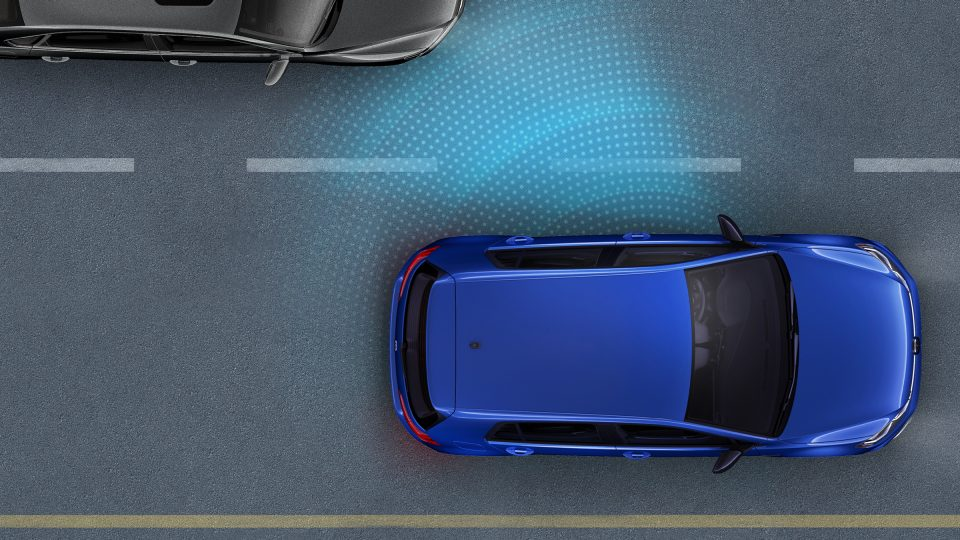2018 Golf R Blind Spot Detection